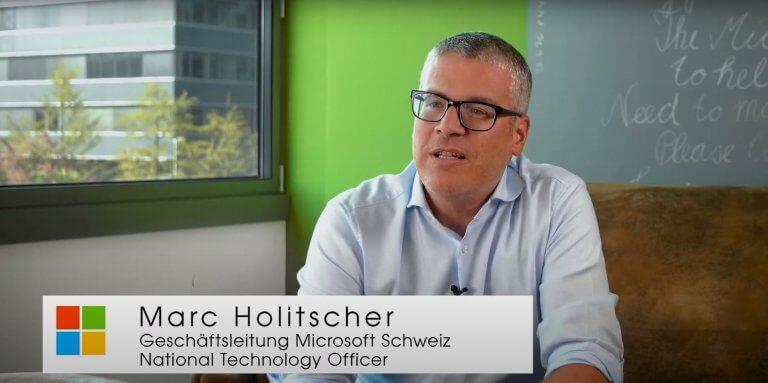 Marc Holitscher, NTO Microsoft Schweiz, über die Datenischerheit, Cyber-Security und den Cloud-Act