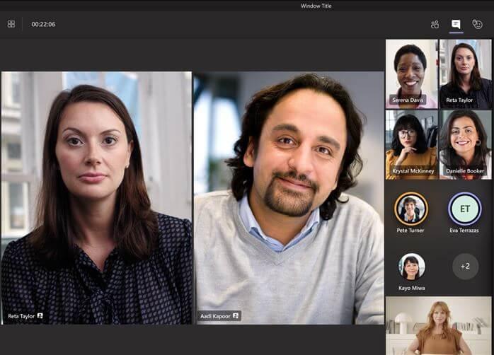 Spotlight-Funktion in Microsoft Teams